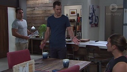 Aaron Brennan, Mark Brennan, Tyler Brennan in Neighbours Episode 7752