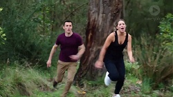 Jack Callaghan, Paige Novak in Neighbours Episode 7753