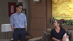 David Tanaka, Amy Williams in Neighbours Episode 7753