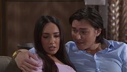 Mishti Sharma, Leo Tanaka in Neighbours Episode 7754