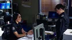 Mishti Sharma, Snr. Sgt. Christina Lake in Neighbours Episode 7755
