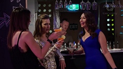Elly Conway, Amy Williams, Dipi Rebecchi in Neighbours Episode 7755
