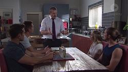 Aaron Brennan, Mark Brennan, Toadie Rebecchi, Piper Willis, Tyler Brennan in Neighbours Episode 7757