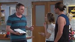 Gary Canning, Piper Willis, Tyler Brennan in Neighbours Episode 7757