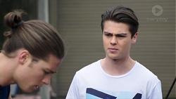 Tyler Brennan, Ben Kirk in Neighbours Episode 7757