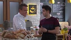Paul Robinson, David Tanaka in Neighbours Episode 7757