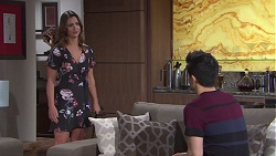 Amy Williams, David Tanaka in Neighbours Episode 7758