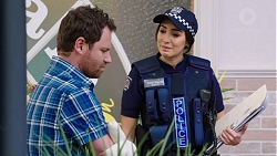Shane Rebecchi, Mishti Sharma in Neighbours Episode 7758
