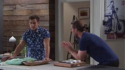 Aaron Brennan, Rory Zemiro in Neighbours Episode 7758
