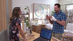 Amy Williams, Shane Rebecchi in Neighbours Episode 7758