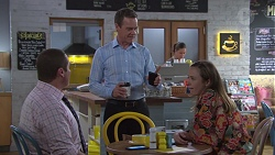 Toadie Rebecchi, Paul Robinson, Sonya Mitchell in Neighbours Episode 7760