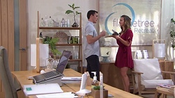 Jack Callaghan, Amy Williams in Neighbours Episode 7760