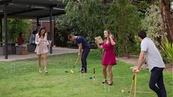 Elly Conway, Mark Brennan, Amy Williams, Jack Callaghan in Neighbours Episode 7760