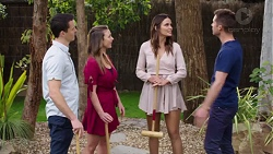 Jack Callaghan, Amy Williams, Elly Conway, Mark Brennan in Neighbours Episode 7760