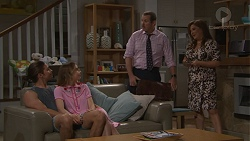 Tyler Brennan, Piper Willis, Toadie Rebecchi, Terese Willis in Neighbours Episode 7761