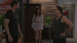 Rory Zemiro, Elly Conway, Aaron Brennan in Neighbours Episode 7761