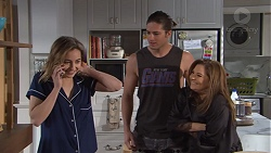 Piper Willis, Tyler Brennan, Terese Willis in Neighbours Episode 7761