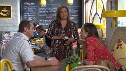 Toadie Rebecchi, Terese Willis, Sonya Mitchell in Neighbours Episode 7761