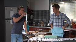 Tyler Brennan, Mark Brennan in Neighbours Episode 7761