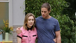 Piper Willis, Tyler Brennan in Neighbours Episode 7761