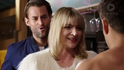 Rory Zemiro, Crystal Carmichael, Aaron Brennan in Neighbours Episode 7761