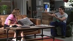 Piper Willis, Ben Kirk in Neighbours Episode 7762