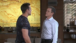 Aaron Brennan, Paul Robinson in Neighbours Episode 7762