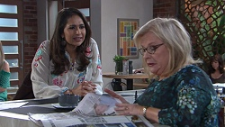 Dipi Rebecchi, Sheila Canning in Neighbours Episode 7762