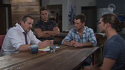 Toadie Rebecchi, Aaron Brennan, Mark Brennan, Tyler Brennan in Neighbours Episode 7762