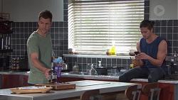 Mark Brennan, Tyler Brennan in Neighbours Episode 7763