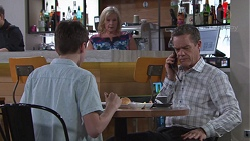 Jimmy Williams, Sheila Canning, Paul Robinson in Neighbours Episode 7763