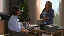 Leo Tanaka, Terese Willis in Neighbours Episode 7764