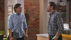 Leo Tanaka, Shane Rebecchi in Neighbours Episode 7764