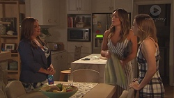 Terese Willis, Paige Novak, Piper Willis in Neighbours Episode 7765