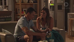 Jack Callaghan, Paige Novak in Neighbours Episode 7765