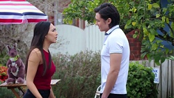 Mishti Sharma, Leo Tanaka in Neighbours Episode 7765