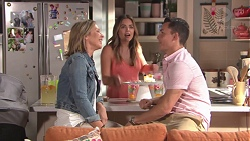 Steph Scully, Paige Novak, Jack Callaghan in Neighbours Episode 7765