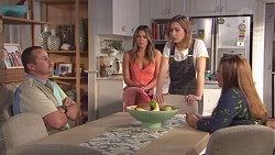 Toadie Rebecchi, Paige Novak, Piper Willis, Terese Willis in Neighbours Episode 7765