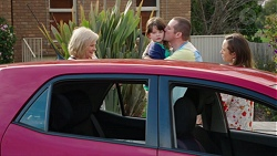 Sheila Canning, Nell Rebecchi, Toadie Rebecchi, Sonya Mitchell in Neighbours Episode 7766