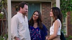 Shane Rebecchi, Dipi Rebecchi, Elly Conway in Neighbours Episode 7767