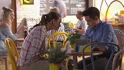 Amy Williams, David Tanaka in Neighbours Episode 7767