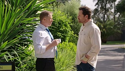 Clive Gibbons, Shane Rebecchi in Neighbours Episode 7767