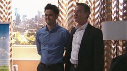 David Tanaka, Paul Robinson in Neighbours Episode 7767