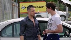 Adrian Snyder, Ben Kirk in Neighbours Episode 7768