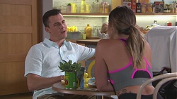 Jack Callaghan, Paige Novak in Neighbours Episode 7768
