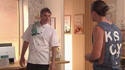 Gary Canning, Tyler Brennan in Neighbours Episode 7768
