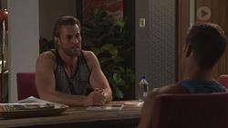 Rory Zemiro, Aaron Brennan in Neighbours Episode 7768