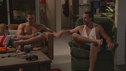 Aaron Brennan, Rory Zemiro in Neighbours Episode 7768