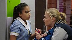 Kirsha Rebecchi, Xanthe Canning in Neighbours Episode 7769