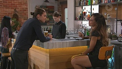 Tyler Brennan, Verity Banks in Neighbours Episode 7769